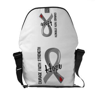 Courage Faith Hope 5 Juvenile Diabetes Messenger Bag