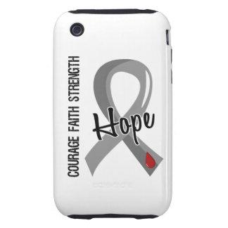 Courage Faith Hope 5 Juvenile Diabetes Tough iPhone 3 Cover