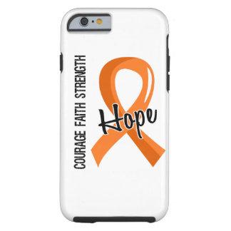 Courage Faith Hope 5 Leukemia Tough iPhone 6 Case