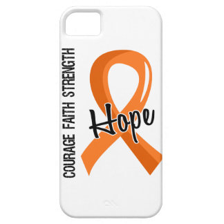 Courage Faith Hope 5 Leukemia iPhone SE/5/5s Case