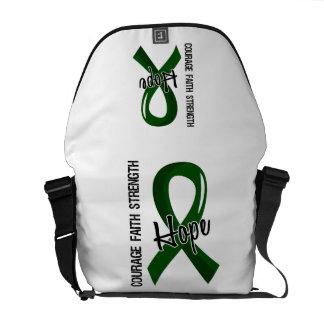 Courage Faith Hope 5 Liver Disease Courier Bag