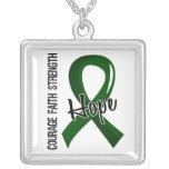Courage Faith Hope 5 Liver Disease Custom Necklace