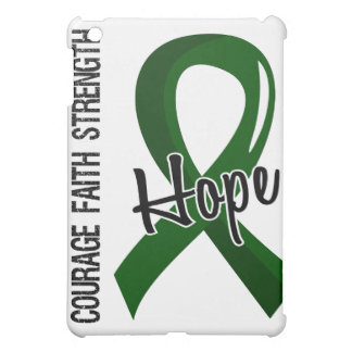 Courage Faith Hope 5 Liver Disease iPad Mini Cover