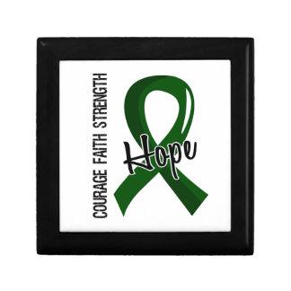 Courage Faith Hope 5 Liver Disease Jewelry Box