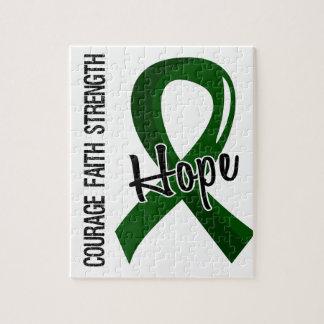 Courage Faith Hope 5 Liver Disease Jigsaw Puzzles