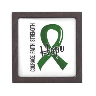 Courage Faith Hope 5 Liver Disease Premium Trinket Box