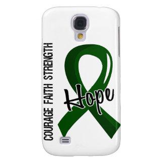 Courage Faith Hope 5 Liver Disease Samsung Galaxy S4 Cases