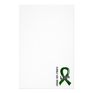 Courage Faith Hope 5 Liver Disease Stationery