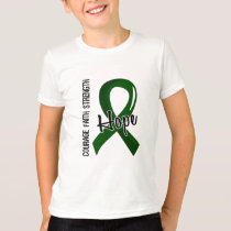 Courage Faith Hope 5 Liver Disease T-Shirt