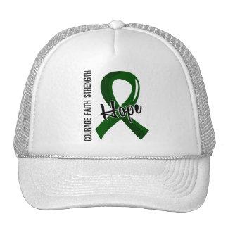 Courage Faith Hope 5 Liver Disease Trucker Hat