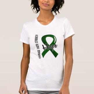 Courage Faith Hope 5 Liver Disease Tshirt