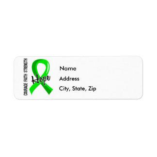 Courage Faith Hope 5 Lyme Disease Label