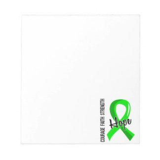 Courage Faith Hope 5 Lyme Disease Notepad