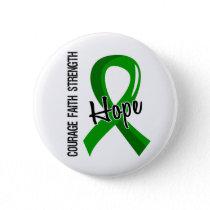 Courage Faith Hope 5 Mental Health Button