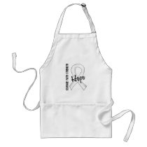 Courage Faith Hope 5 Mesothelioma Adult Apron