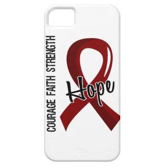 Courage Faith Hope 5 Multiple Myeloma iPhone SE/5/5s Case