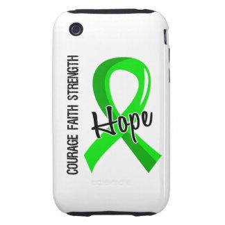 Courage Faith Hope 5 Non-Hodgkin's Lymphoma iPhone 3 Tough Case
