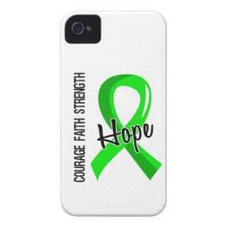 Courage Faith Hope 5 Non-Hodgkin's Lymphoma iPhone 4 Cases