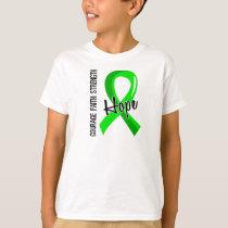 Courage Faith Hope 5 Non-Hodgkin's Lymphoma T-Shirt