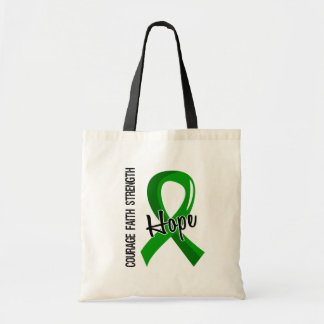 Courage Faith Hope 5 Organ Donation Tote Bag