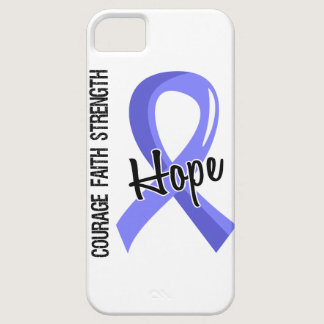 Courage Faith Hope 5 Prostate Cancer iPhone SE/5/5s Case