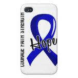 Courage Faith Hope 5 Rheumatoid Arthritis iPhone 4/4S Cases