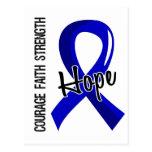 Courage Faith Hope 5 Rheumatoid Arthritis Postcard