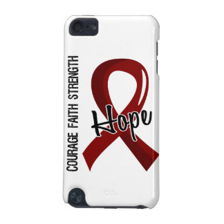 Courage Faith Hope 5 Sickle Cell Disease iPod Touch (5th Generation) Cover