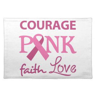 COURAGE FAITH LOVE CLOTH PLACE MAT