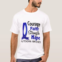 Courage Faith Strength Hope Dysautonomia T-Shirt