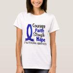 Courage Faith Strength Hope Dysautonomia T-Shirt