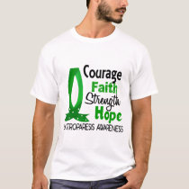 Courage Faith Strength Hope Gastroparesis T-Shirt
