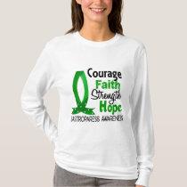 Courage Faith Strength Hope Gastroparesis T-Shirt