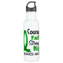 Courage Faith Strength Hope Gastroparesis Water Bottle