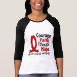 Courage Faith Strength Hope Heart Disease Shirt