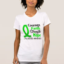 Courage Faith Strength Hope Lyme Disease T-Shirt