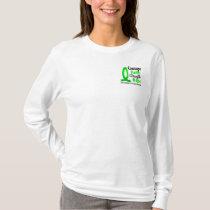 Courage Faith Strength Hope Non-Hodgkin's Lymphoma T-Shirt
