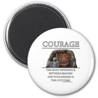 Courage Fantasy (de)Motivator Magnet