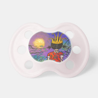 Courage Girl Wearing Crown Baby Pacifier