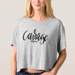 COURAGE GREY CROPPED TEE outofziongrace