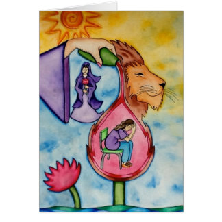 Courage, Healing, and Strength by Rita Loyd Card