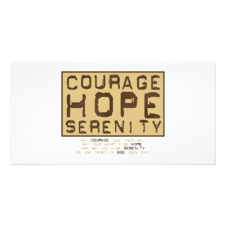 Courage Hope Serenity (1) Card