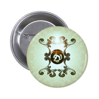 Courage in combat button
