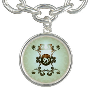 Courage in combat charm bracelets