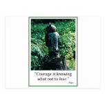 Courage in Everything Postcard