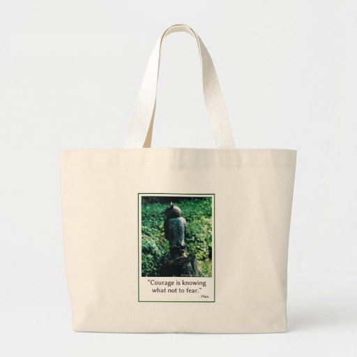 Courage in Everything Tote Bag
