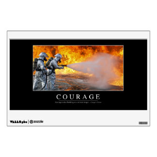Courage: Inspirational Quote Wall Decal