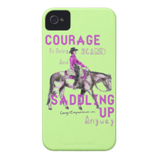 Courage iPhone 4 Cover