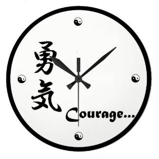 Courage Kanji Clock