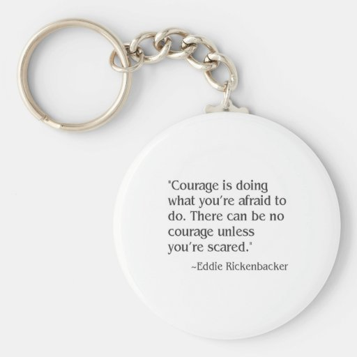 courage key chain